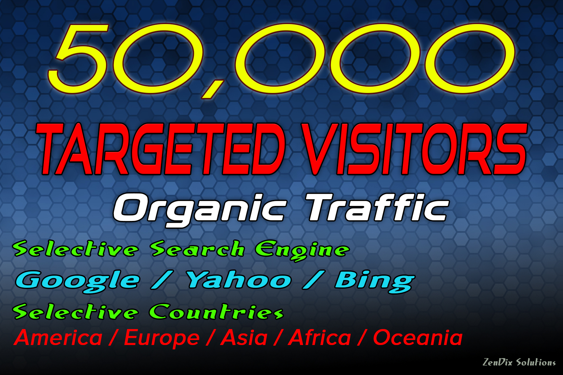 Drive 50000 Target Web Traffic for 30 Days
