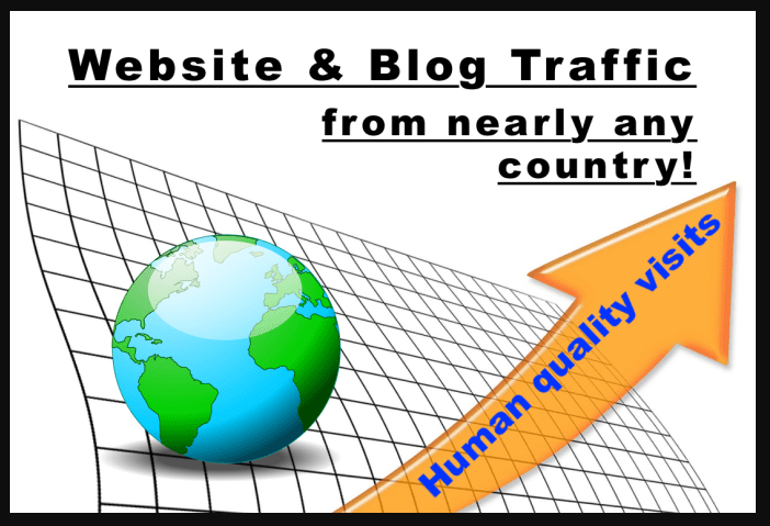 More than 9999 Human Visits,  Traffic From Nearly Any Country