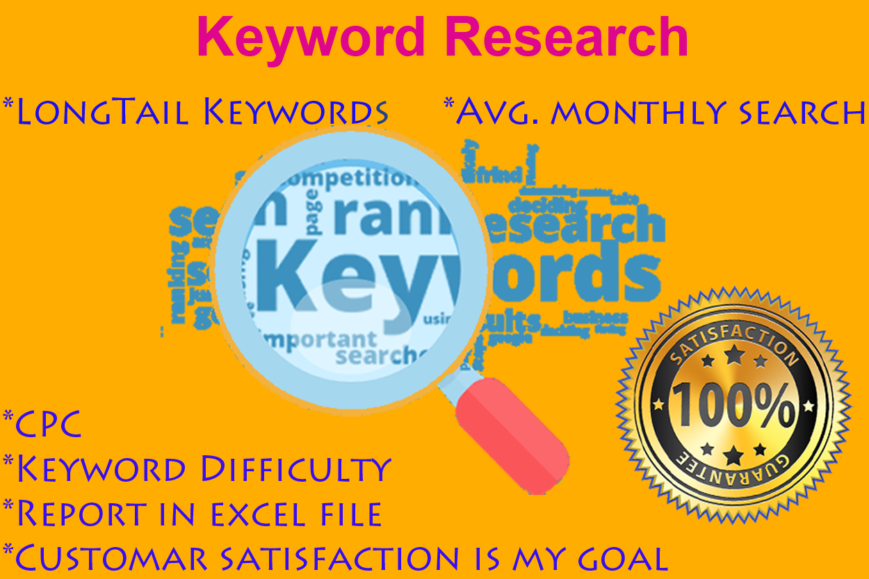 White Hat 30 Targeted Keyword Research To Your Niche