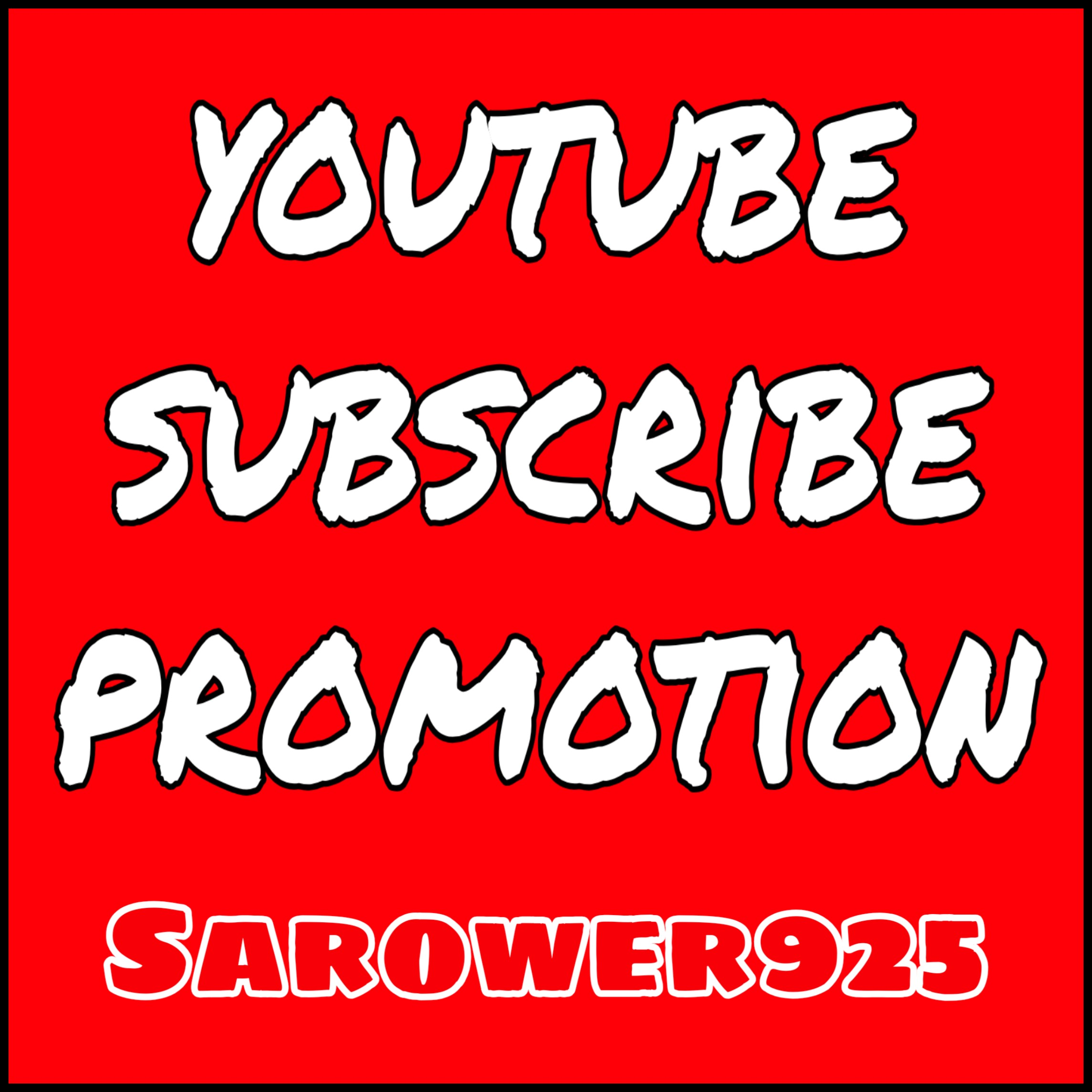Permanent youtube promotion by real and active users