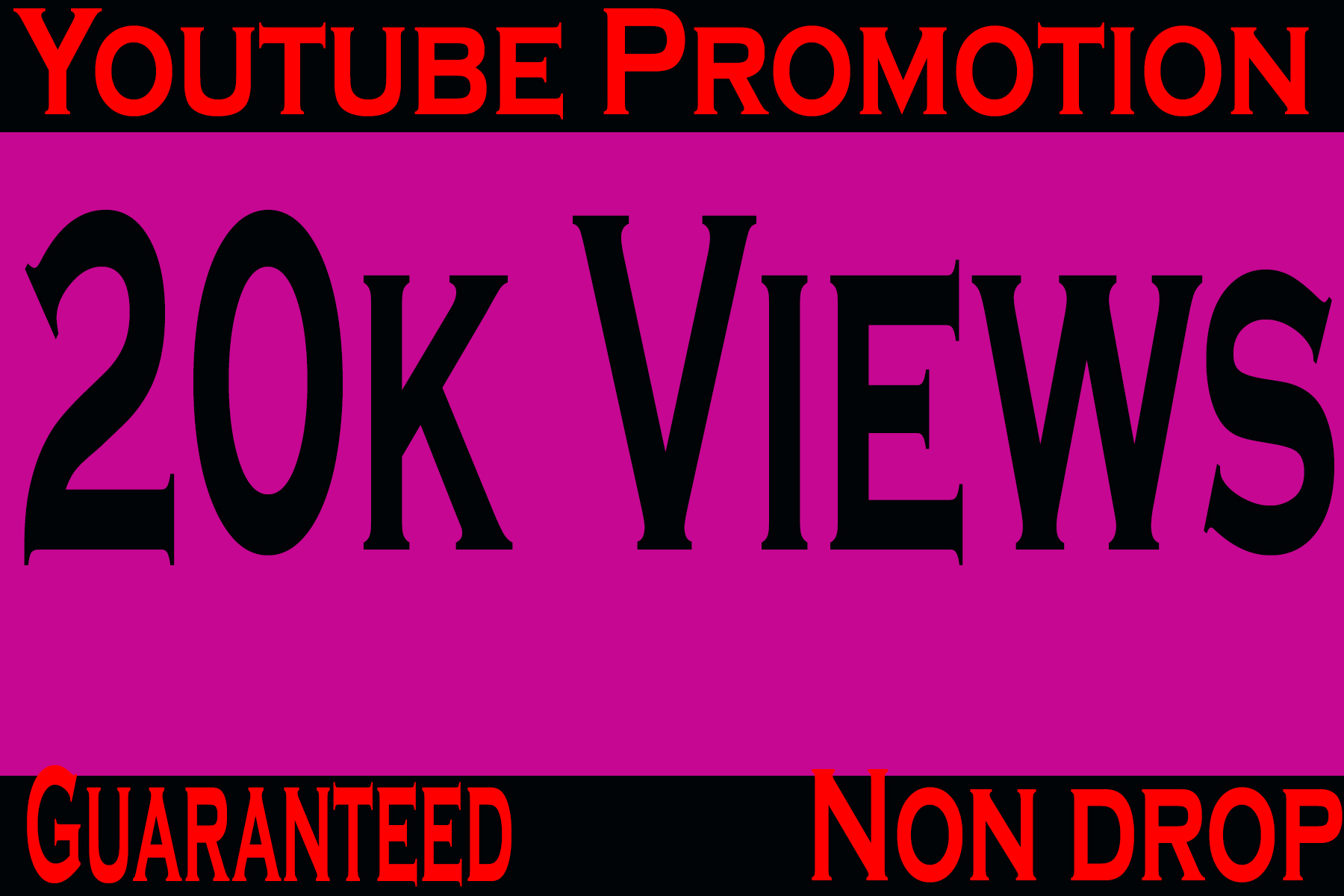 Guaranteed and safe 20k or 20000 YouTube vieews and 20 YouTube com-ments and 20 subs-cribers