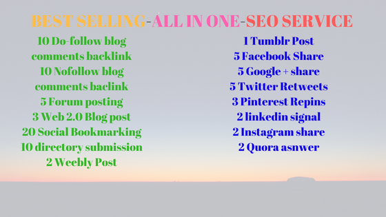 All In One Ultimate SEO Package for