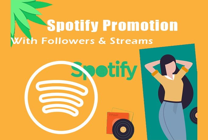 I will do organic and integrated viral sp0tify music promotion