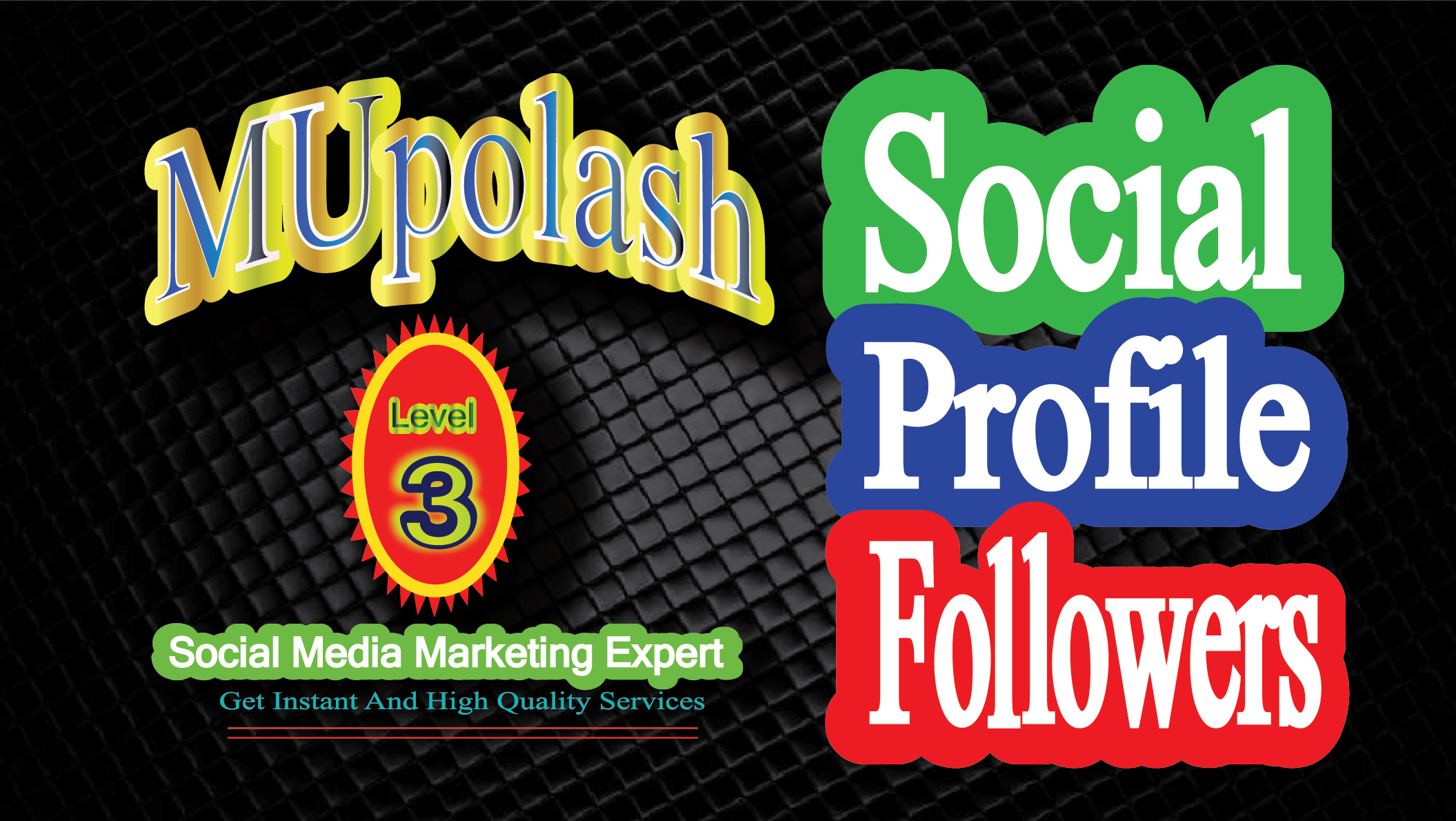 Get Instantly high quality social promotion on your s...