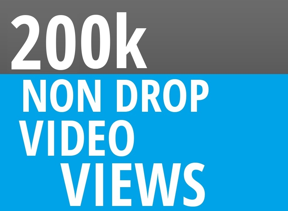 Add Fast 200000+ High Quality Social Video Views Fast and Stable Lifetime
