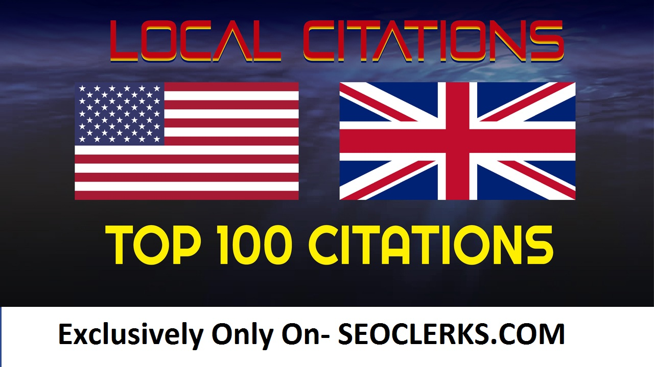 Add Business Details On 100 TOP UK OR USA Sites