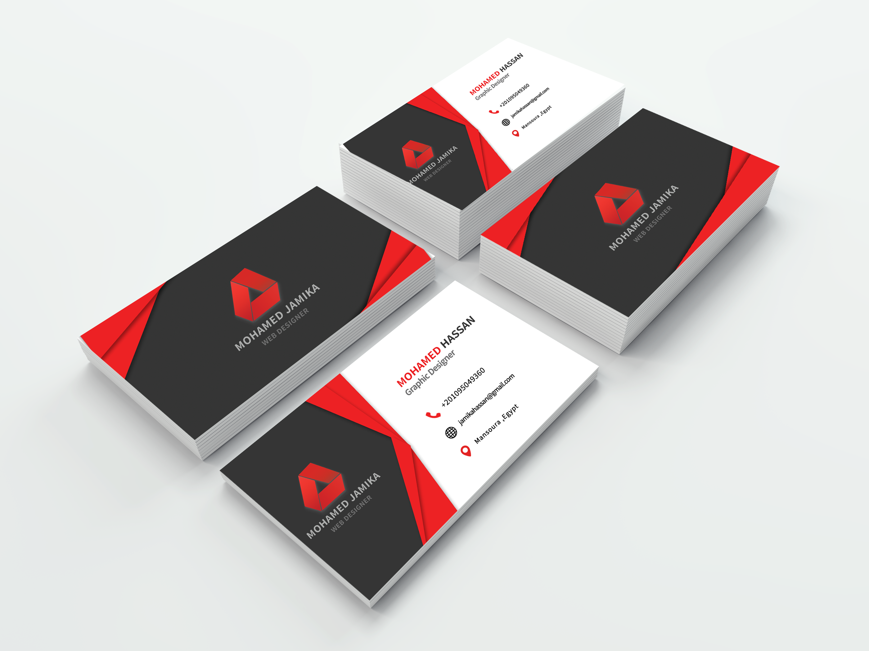 profeesional business card design