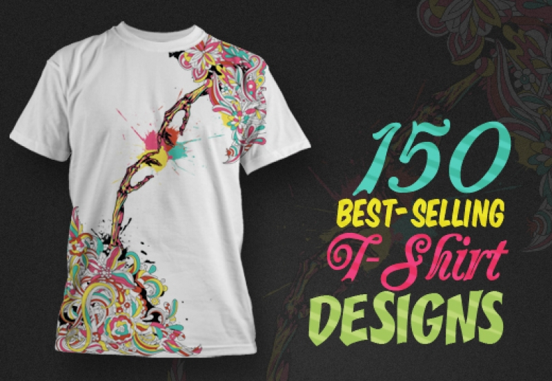give you 150 Best-Selling T-shirt Designs