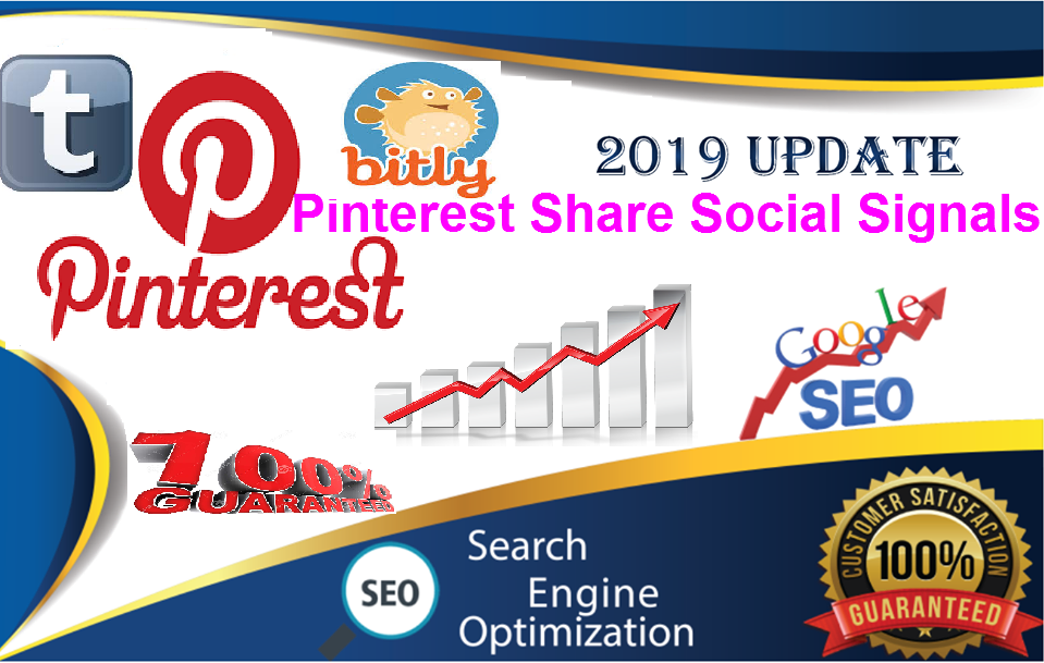TOP 3 Sites USA 10,000 pinterest LifeTime share + Real SEO Social Signals 10 Tumblr+ 500 bitly views from SEO Social Signals Share Bookmarks Important Google Ranking Factors