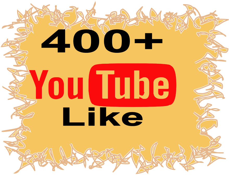Get 400+ You`tube lik`es very fast