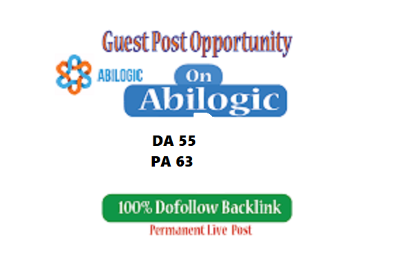 Write & Publish guest post on ABILOGIC DA55