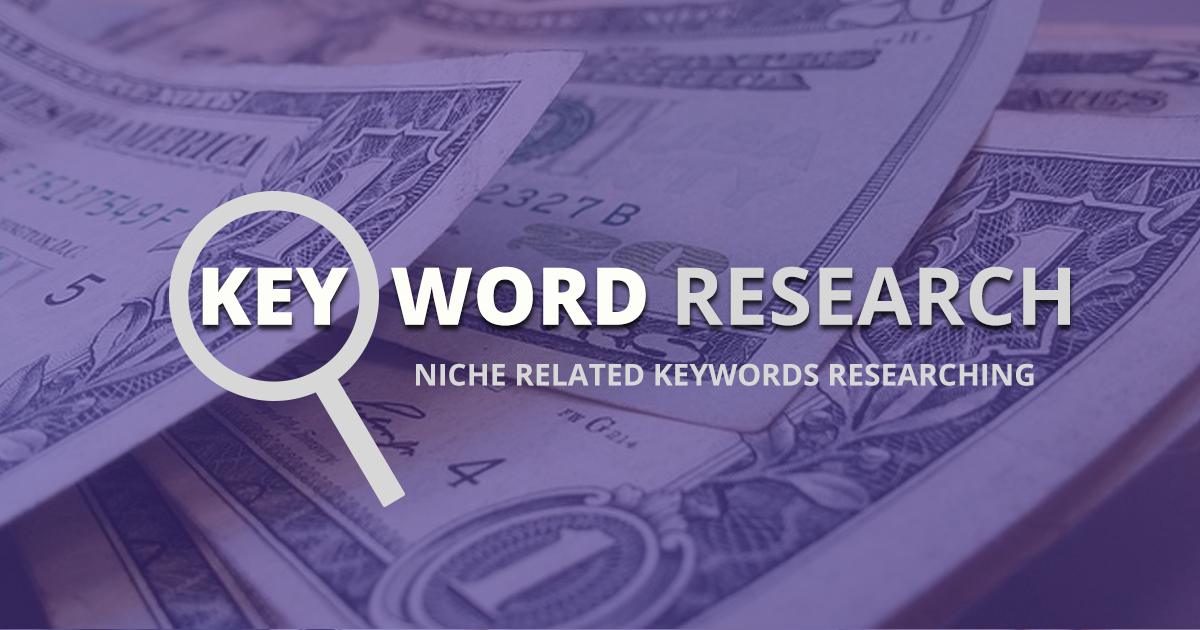 Create niche website with Research Keywords