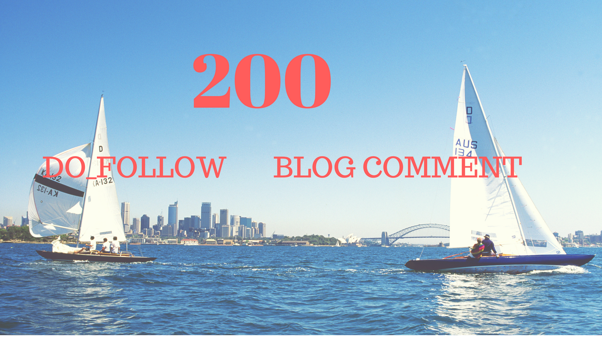 Do 200  Blog Comments Do Follow Backlinks in only 20$