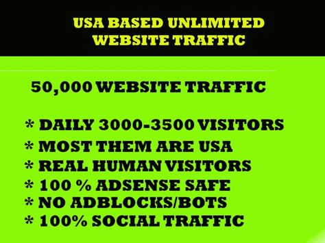 Only USA Human Traffic 12,00,000 + Per Mount