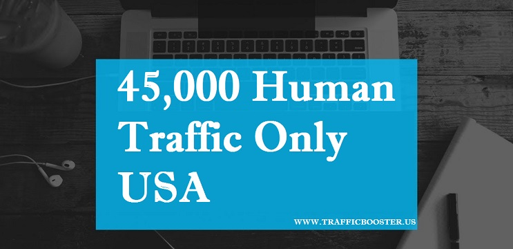 Send 45,000 Targeted USA Real Visitors for $1