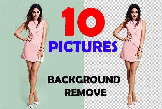 I'll do adobe photoshop editing, retouching, background removal