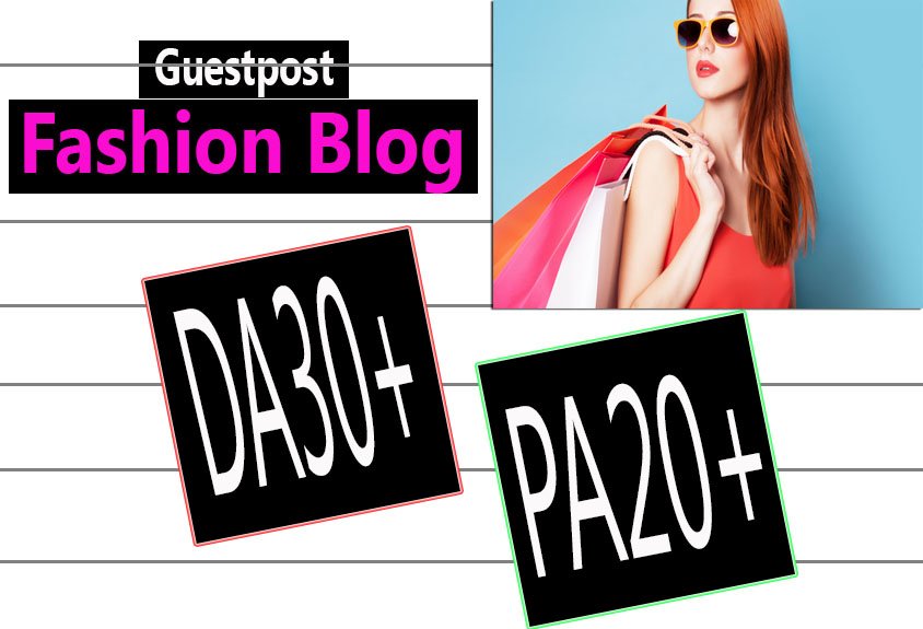Do Guest post in PR5 HQ Fashion blog