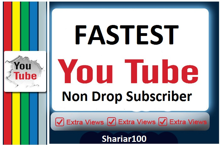 Add 170+ Real Channel subscribers from USA,France And Worldwide Delivery Within 2-8 hours
