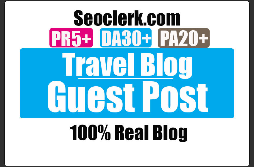 Do guest post on Da30 Travel blog