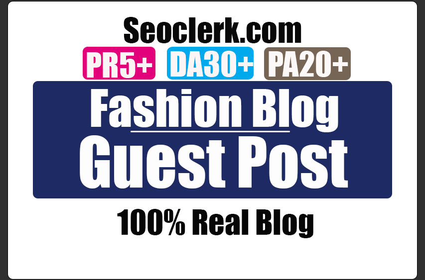 Do Guest Post in PR5 Fashion blog