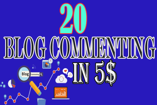 Get 20 Niche Related Blog Commenting