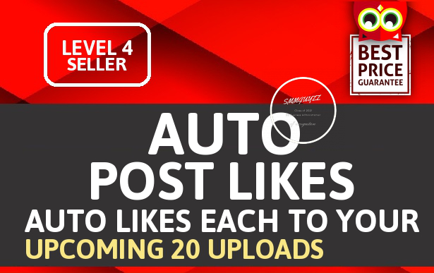 Add Automatic 100+ Likes Each 20 Upcoming Posts