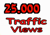 buy high traffic unlimited 25.000 Views real