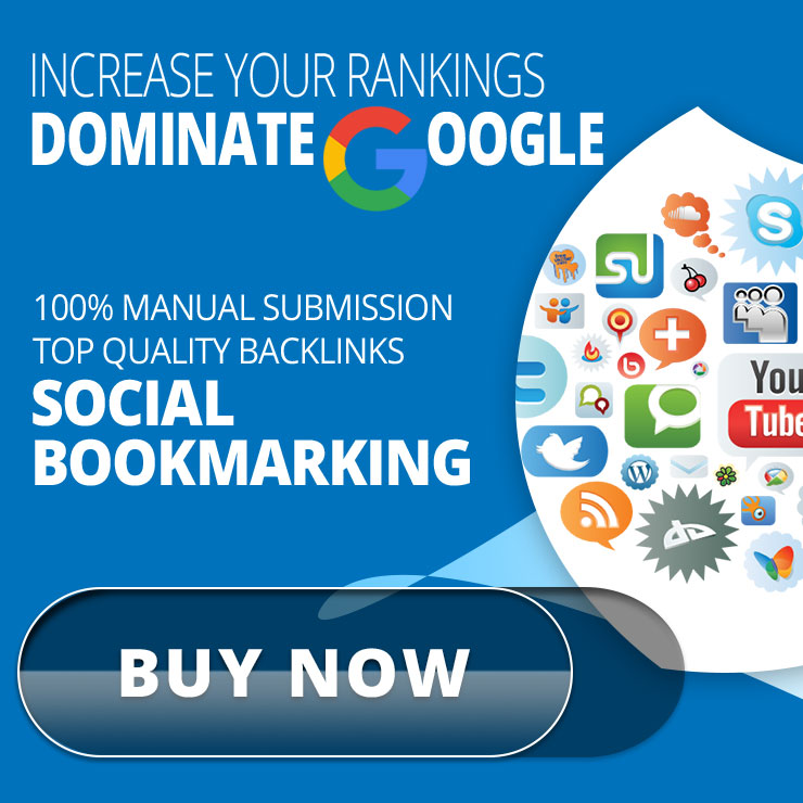 Add 20 High DA Social Bookmarks