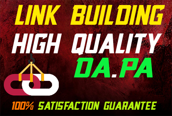 Manual Link Building For 1000 High PR Dofollow Seo Backlinks