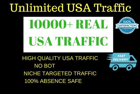drive real usa traffic