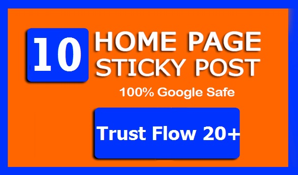 20 High TF CF Permanent HOMEPAGE STICKY PBN Links