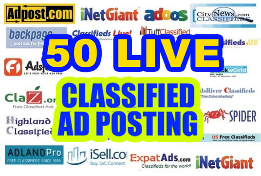 I well post 50 classifieds advertising demand on Client zone