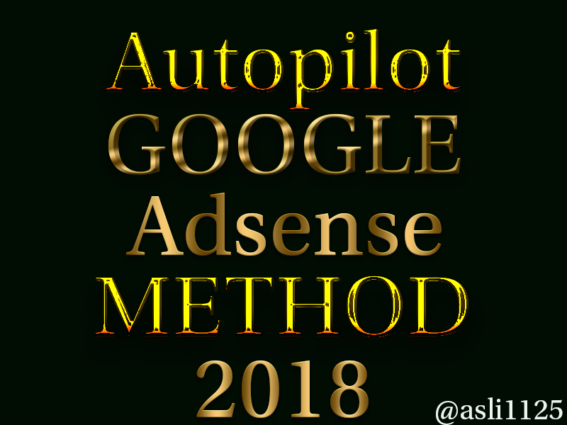 teach you how to make money with adsense on autopilot