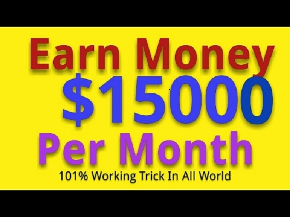 show you the method to earn over 15,000 dollar through adsense