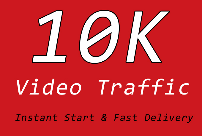 10000 Video Traffic with NonDrop, Quality, Instant Start and Fast Delivery