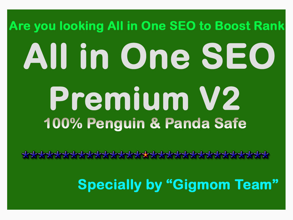 All in One SEO Premium V2 to Boost Rank