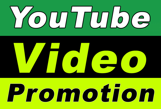 YouTube Video Promotion with Seo and Social Media Marketing