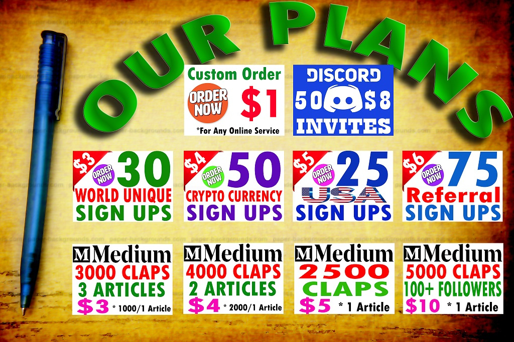 Buy 25 Unique Sign Ups from USA