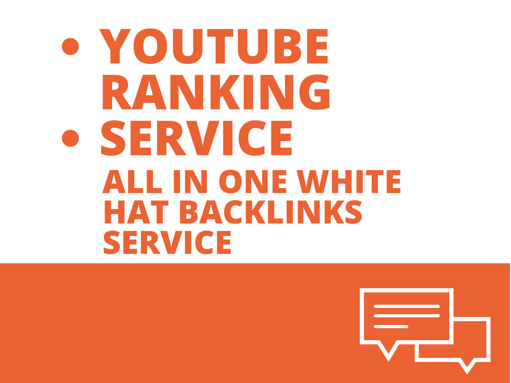 Rocket Up Your Youtube Ranking,  Promotion And Traffic With 560,000 Seo Backlinks