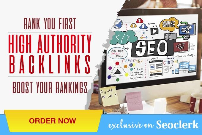Write & Publish Post on 10 X High Authority DA80 PA95 TF76 Backlinks,  From Dofollow Real Sites