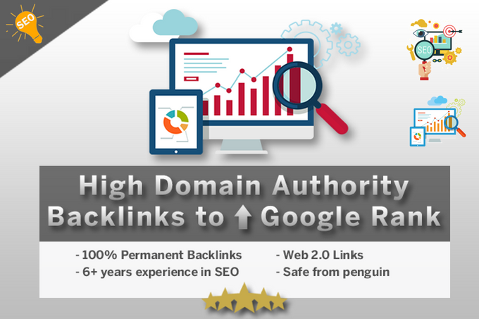 Create 25 High Domain Authority Backlinks To Improve Google Rankings