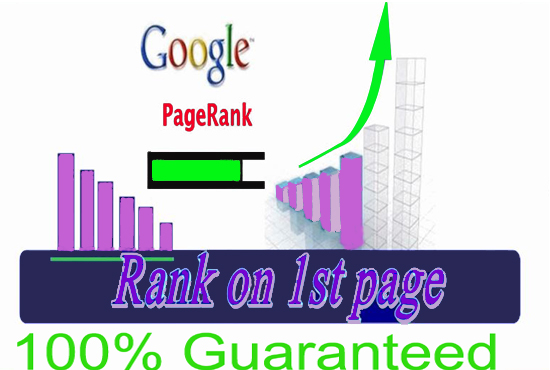 GOOGLE 1st page ranking with 100% guarantee