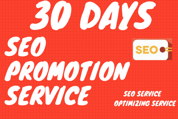 do an Seo Promotion for 30 Days
