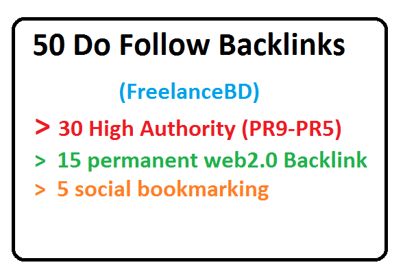 50 Do Follow Backlink to Boost Your Ranking ASAP