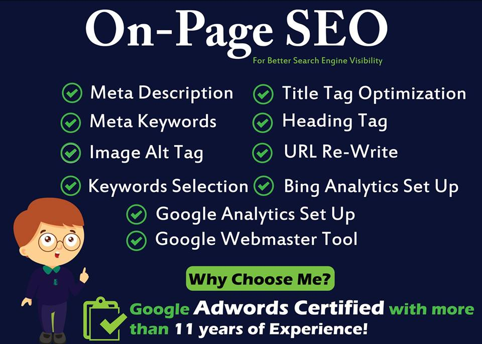 I Will Do Advance On Page SEO Optimization to Boost your Search Engine Ranking & Traffic