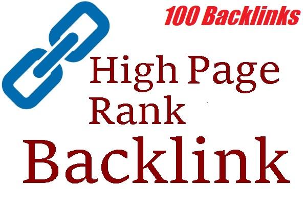 2021 high powerful 100 backlinks