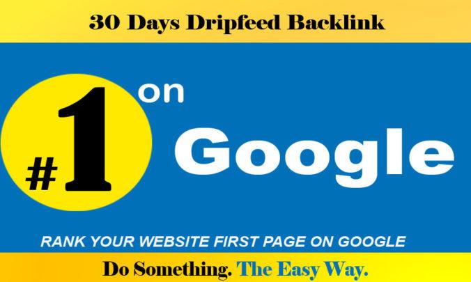 Do Manually 30 Days Drip Feed Penguin Safe 30 Actual ...
