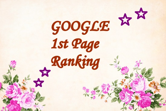 offer guaranteed google 1st page ranking of your website