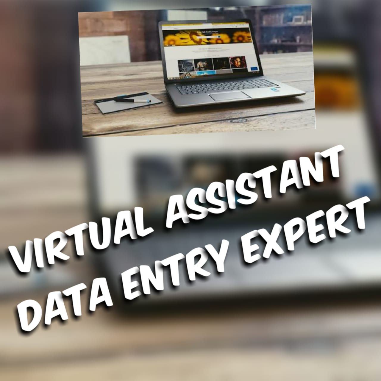 Be you virtual Assistant & Your Data Entry Expert