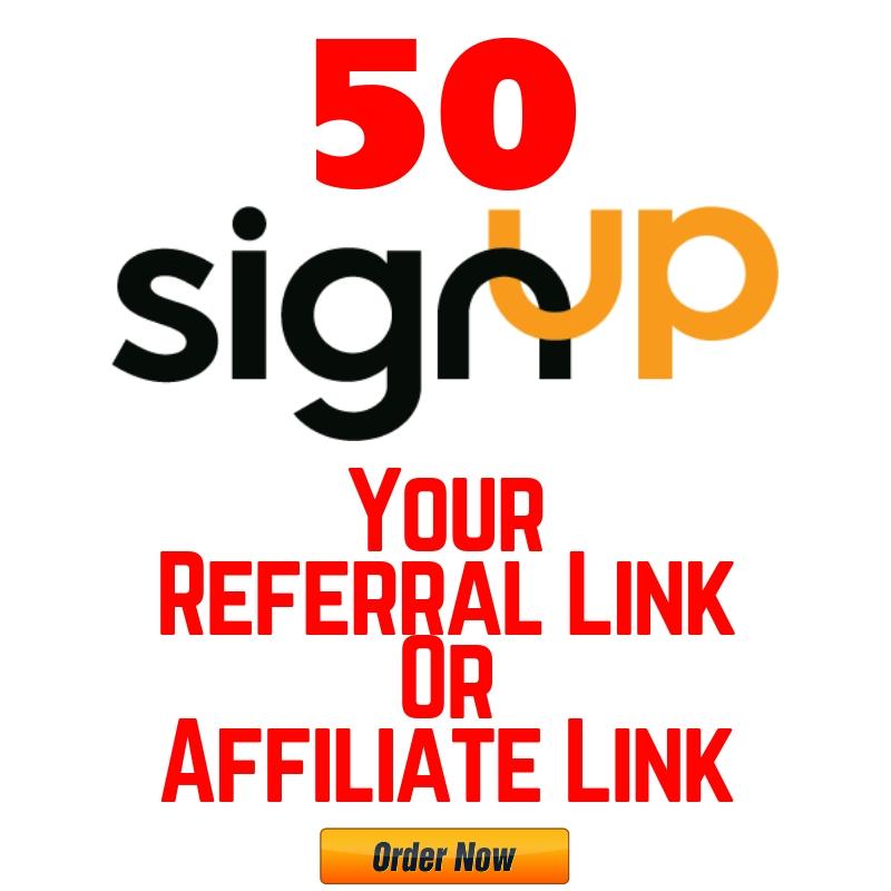 Super Fastest 50 Sign Up Your Referral Link